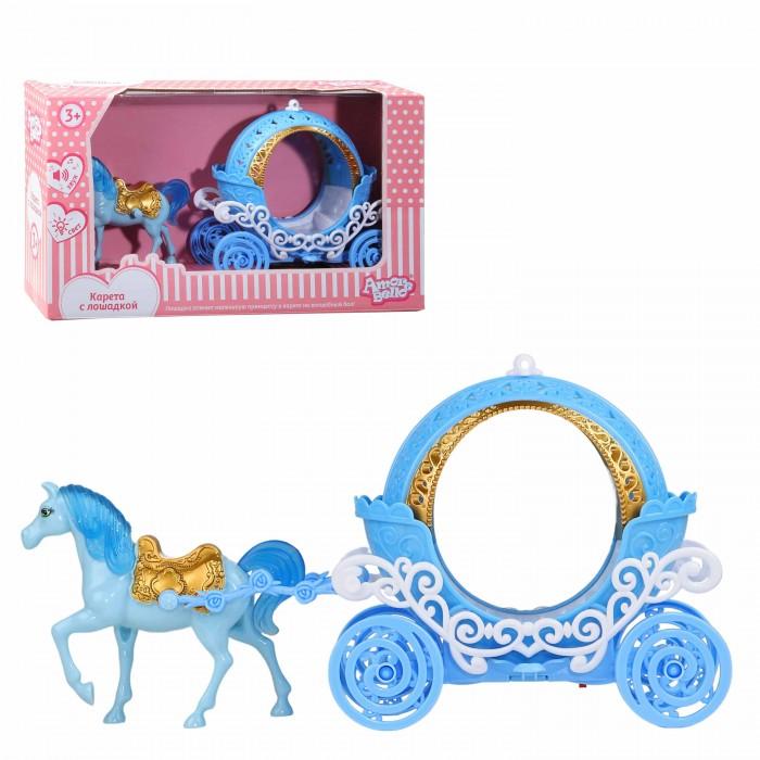 Игровые наборы, Amore Bello Карета с лошадкой со светом и звуком  - купить со скидкой