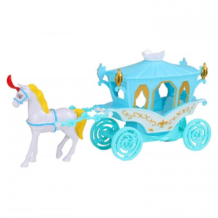 Купить Игровые наборы, Amore Bello Карета с лошадкой со светом и звуком JB0207204