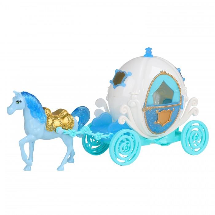 Купить Игровые наборы, Amore Bello Карета с лошадкой со светом и звуком JB0207203