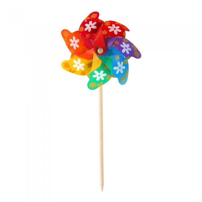 Фото - Товары для праздника Компания друзей Ветерок в цветочек 45 cм + цветок 24 cм товары для праздника наша игрушка вертушка цветочек с липестками 35 см