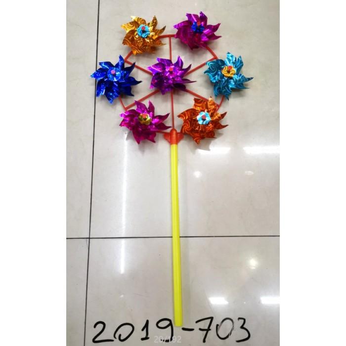 Купить Товары для праздника, Компания друзей Ветерок 25 cм + 7 цветков по 9 cм