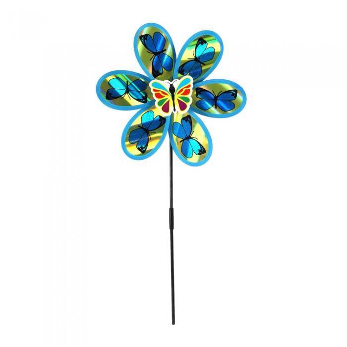 Фото - Товары для праздника Компания друзей Ветерок с бабочками 50 см + цветок 27 см товары для праздника наша игрушка вертушка цветочек с липестками 35 см
