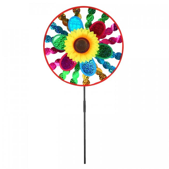Фото - Товары для праздника Компания друзей Ветерок с подсолнухом 50 см товары для праздника наша игрушка вертушка цветочек с липестками 35 см