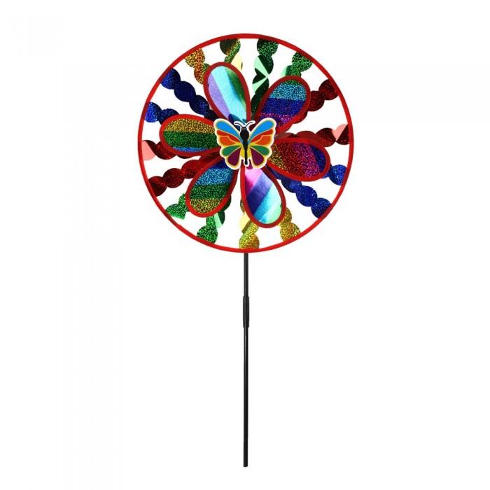 Фото - Товары для праздника Компания друзей Ветерок с бабочкой 50 см товары для праздника наша игрушка вертушка цветочек с липестками 35 см