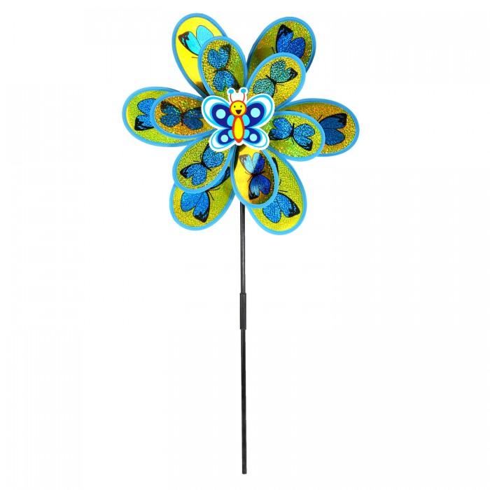 Фото - Товары для праздника Компания друзей Ветерок с бабочкой 50 см JB0206253 товары для праздника наша игрушка вертушка цветочек с липестками 35 см