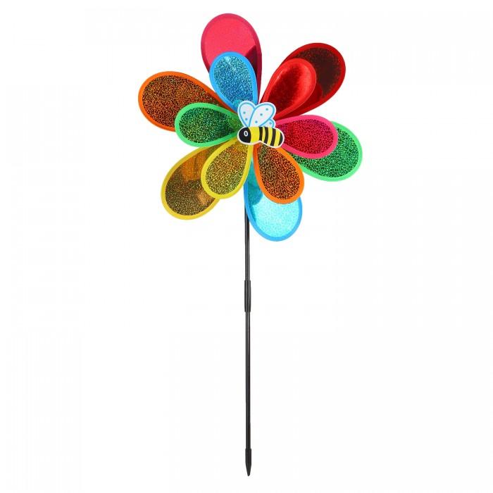 Фото - Товары для праздника Компания друзей Ветерок с пчелой 50 см товары для праздника наша игрушка вертушка цветочек с липестками 35 см