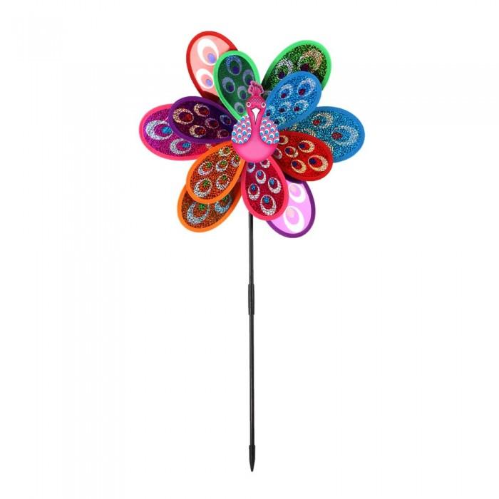 Фото - Товары для праздника Компания друзей Ветерок с павлином 50 см товары для праздника наша игрушка вертушка цветочек с липестками 35 см