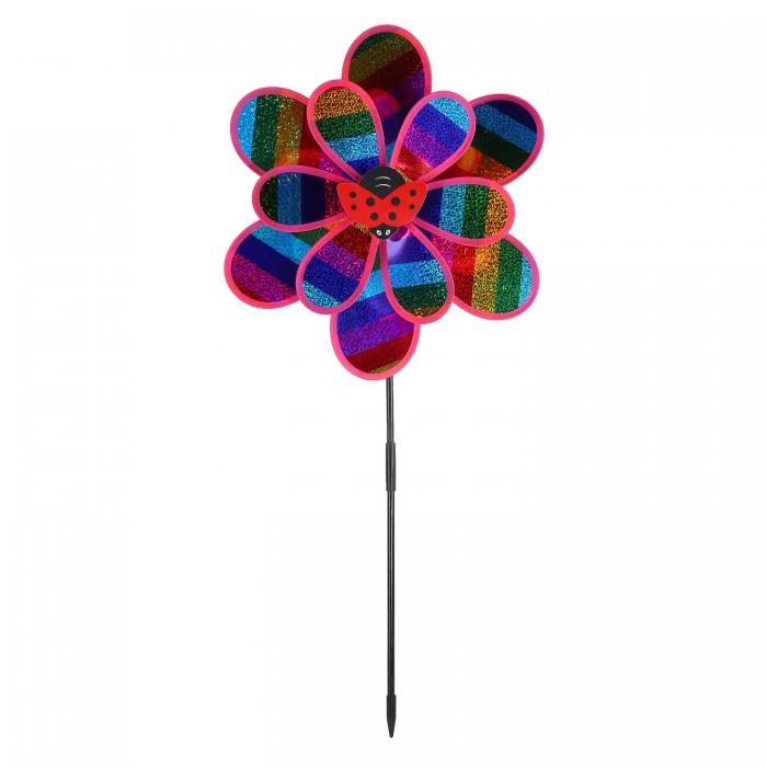 Фото - Товары для праздника Компания друзей Ветерок с божьей коровкой 50 см товары для праздника наша игрушка вертушка цветочек с липестками 35 см