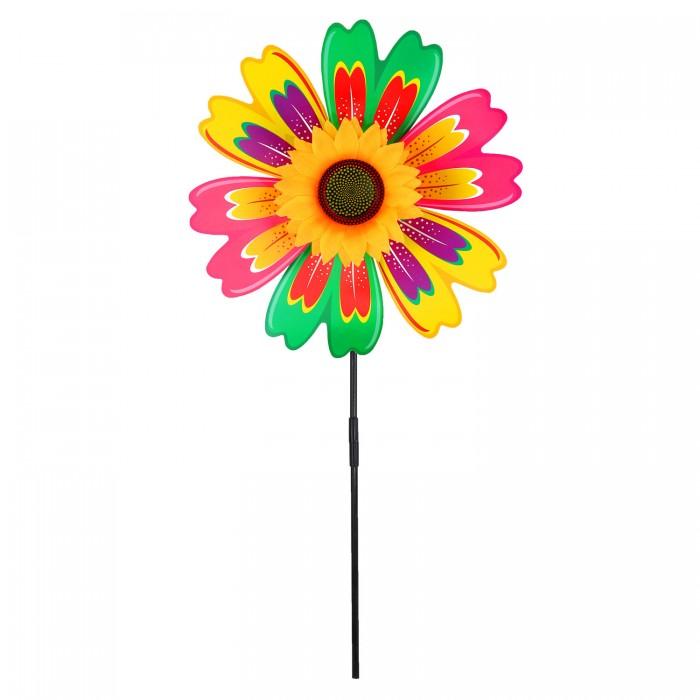 Фото - Товары для праздника Компания друзей Ветерок с подсолнухом 52 см товары для праздника наша игрушка вертушка цветочек с липестками 35 см