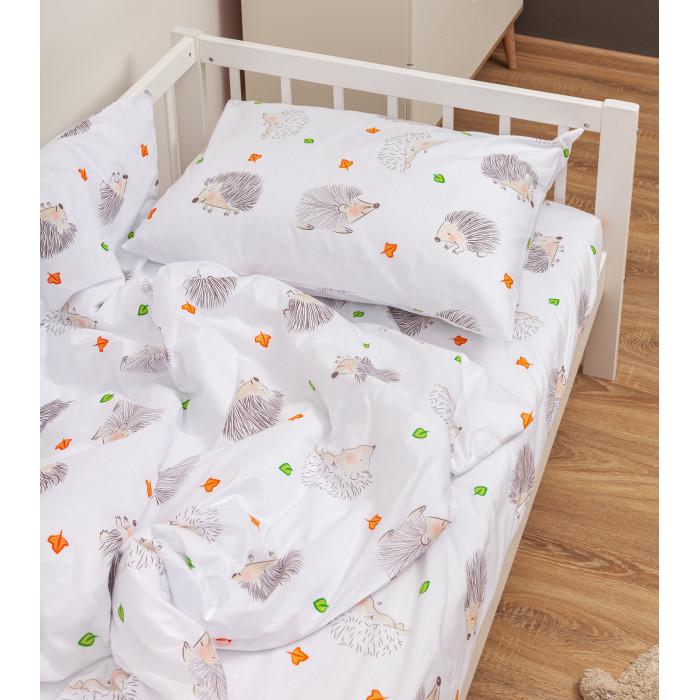 Купить Постельное белье Forest Ежики 160х80 см (3 предмета)