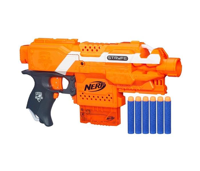 Игрушечное оружие Nerf Hasbro Бластер Элит Страйф, Игрушечное оружие - артикул:107476