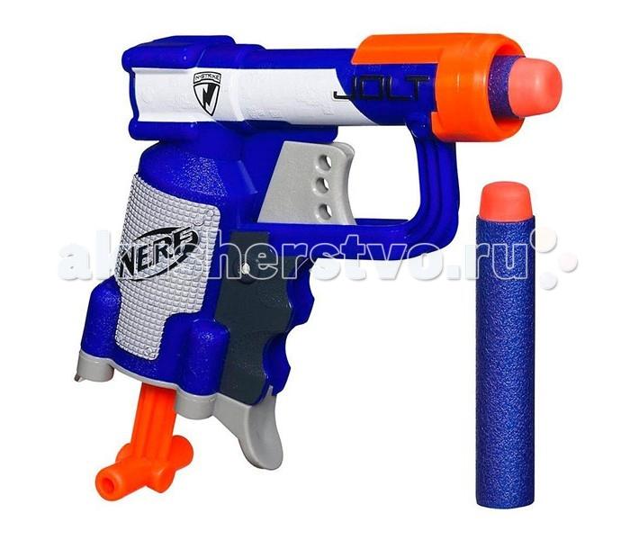 Игрушечное оружие Nerf Hasbro Бластер Элит Джолт оружие игрушечное hasbro nerf бластер зомби слингфайр