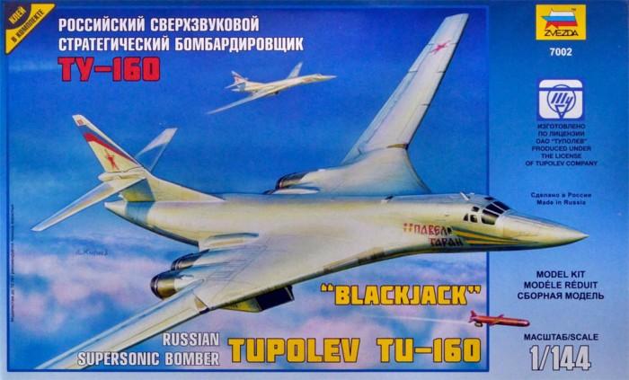 Конструкторы Звезда Модель Самолет Ту-160 звезда самолет томагавк 7201з