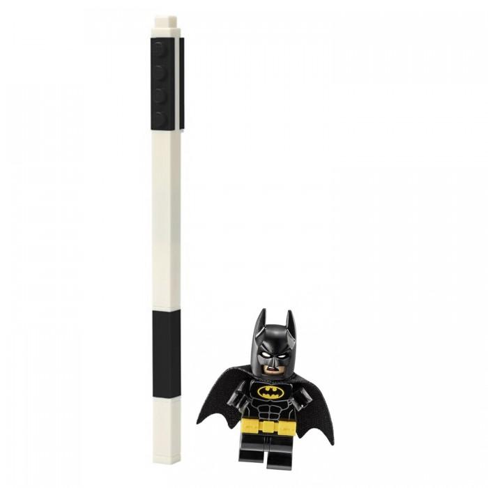 Канцелярия Lego DC Super Heroes Гелевая ручка с минифигуркой Batman