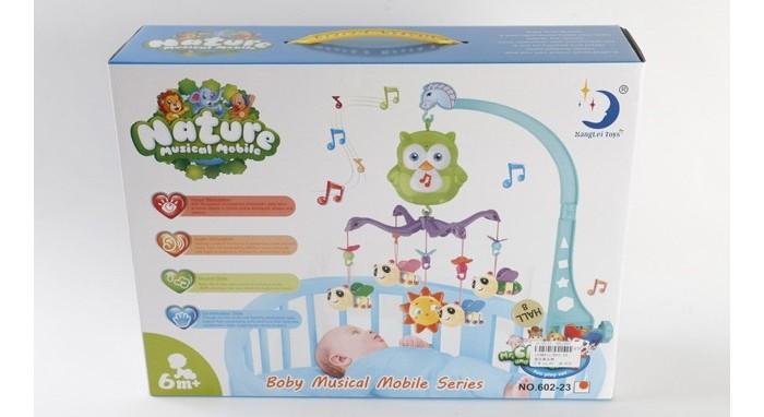 Мобили Джамбо Музыкальная карусель с колыбельными мелодиями мобили zhorya музыкальная карусель улыбка детства н61456