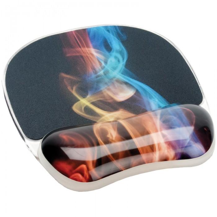Fellowes Коврик для мыши Photo Gel Радужный дым