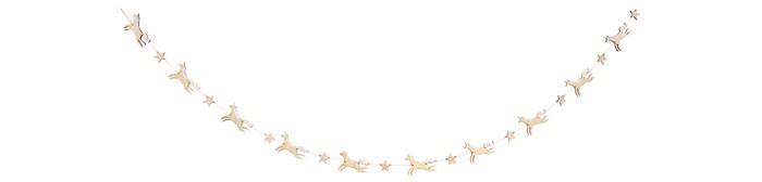 Фото - Товары для праздника MeriMeri Гирлянда деревянная Единороги товары для праздника merimeri гирлянда кисточки
