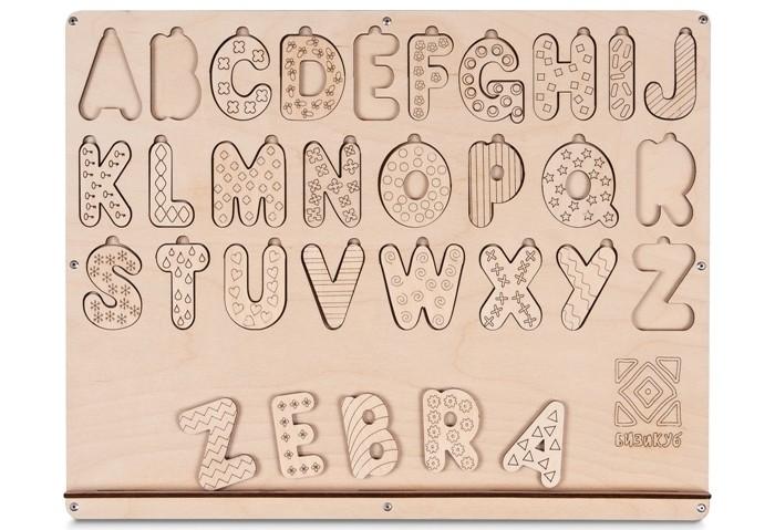Фото - Деревянные игрушки Бизикуб Алфавит английский пазлы апплика мозаика мягкий алфавит английский