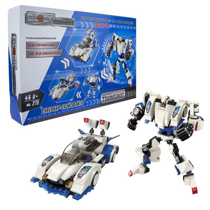 1 Toy Blockformers Transbot конструктор Суперкар-Спэйсфайтер