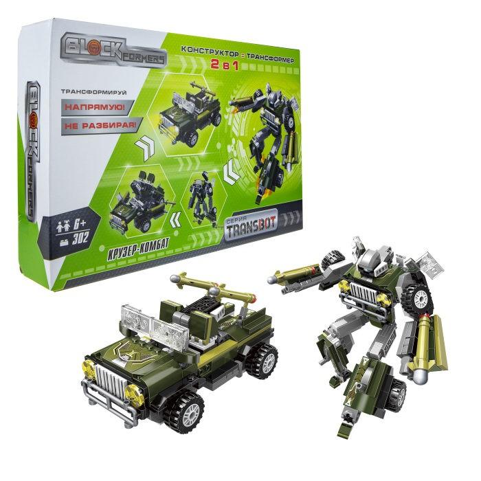 1 Toy Blockformers Transbot конструктор Крузер-Комбат