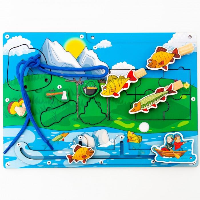 Купить Деревянные игрушки, Деревянная игрушка Сибирские игрушки Бизиборд для мальчиков