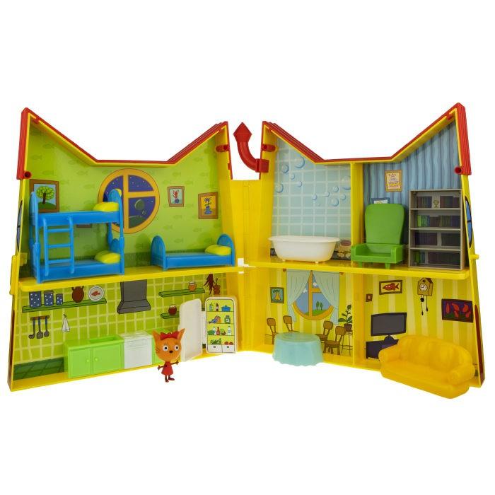 Картинка для Игровые наборы Три кота Игровой набор Дом Котят с мебелью и секретной фигуркой внутри