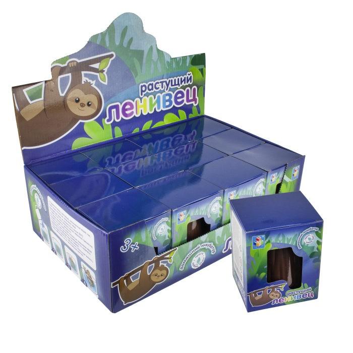 Наборы для опытов и экспериментов 1 Toy Игрушка домашний инкубатор яйцо растущий Ленивец