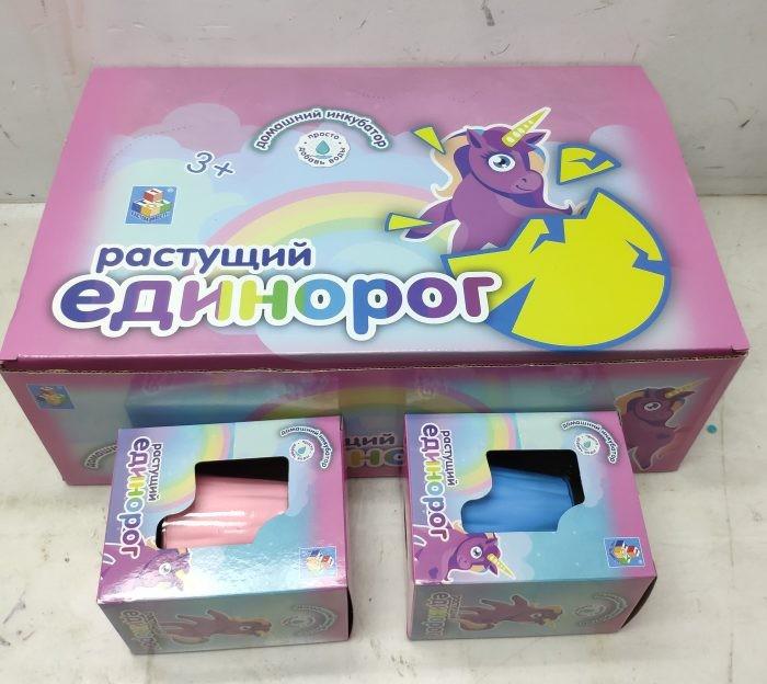 Наборы для опытов и экспериментов 1 Toy Домашний инкубатор пенек с растущим единорогом