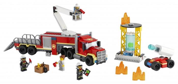 Конструктор Lego City 60282 Лего Город Команда пожарных