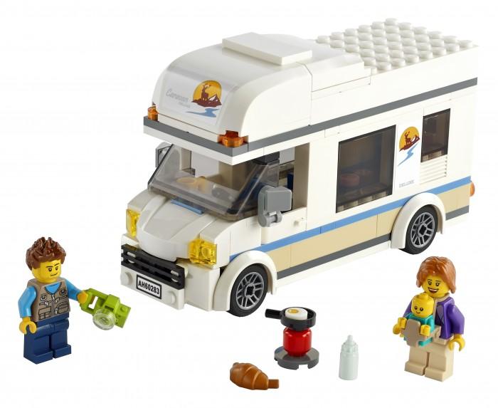 Конструктор Lego City 60283 Лего Город Отпуск в доме на колесах