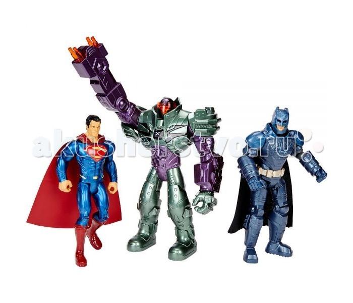 Игровые наборы Mattel Игровой набор Бэтмен и Супермен против Лекса игровые наборы tomy игровой набор приключения трактора джонни и лошади на ферме
