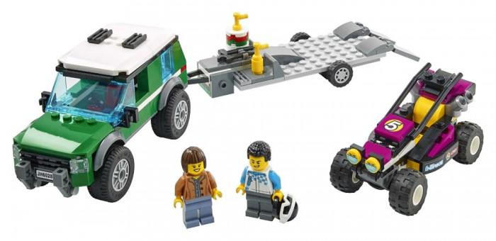 Конструктор Lego City 60288 Лего Город Транспортировка карта