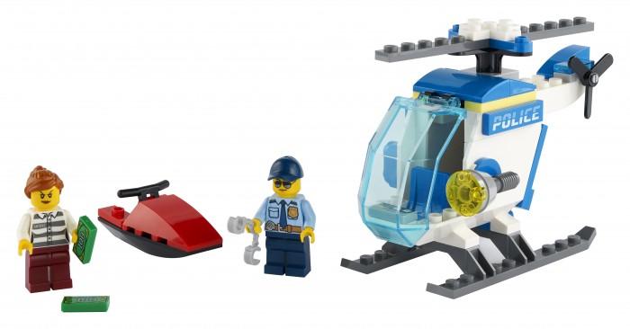 Купить Конструктор Lego City 60275 Лего Город Полицейский вертолёт
