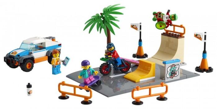 Купить Конструктор Lego City 60290 Лего Город Скейт-парк