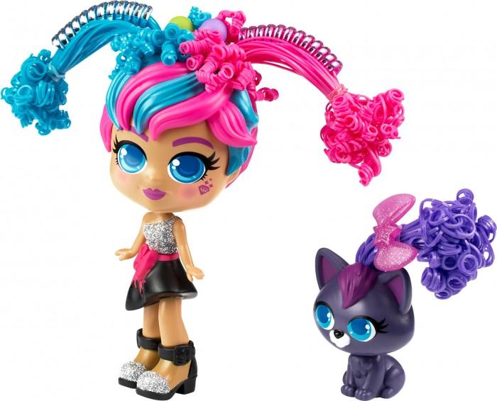 Curli Girls Кукла Модница Милли с чёрным котёнком Вог