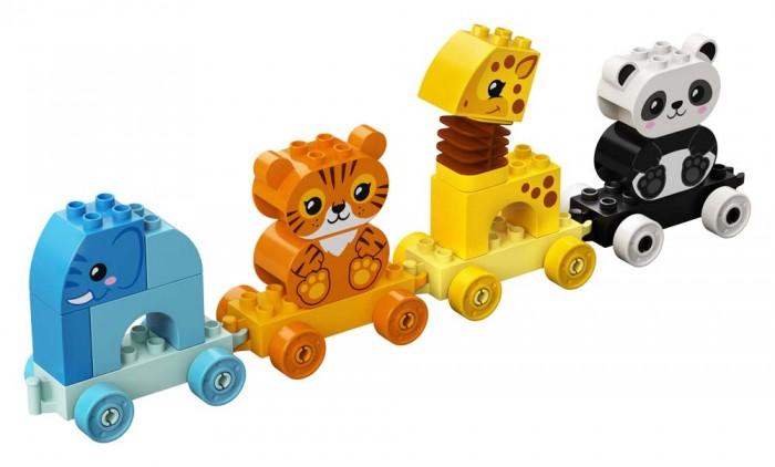 Конструктор Lego Duplo 10955 Лего Дупло Поезд для животных  - купить со скидкой