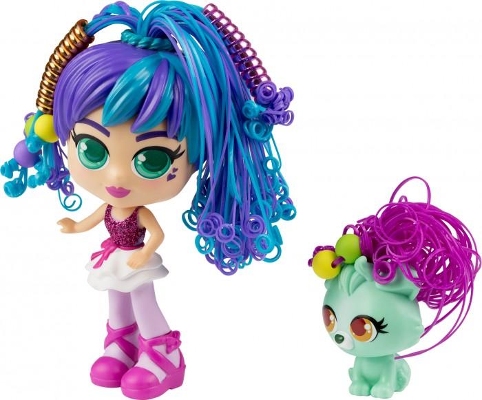 Curli Girls Кукла Балерина Росли со щенком Коди