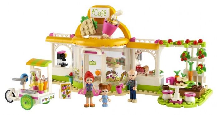 Купить Конструктор Lego Friends 41444 Лего Подружки Органическое кафе Хартлейк-Сити