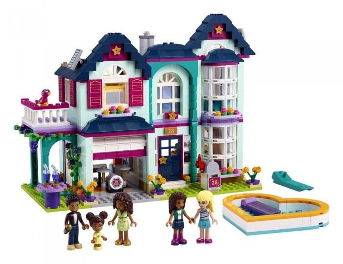 Конструктор Lego Friends 41449 Лего Подружки Дом семьи Андреа