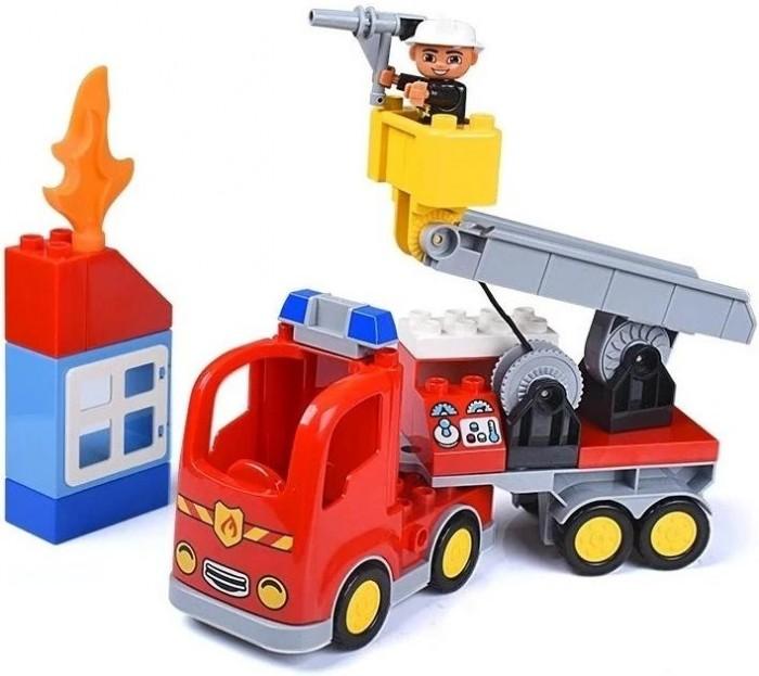 Конструктор Gorock Пожарная машина (30 деталей)