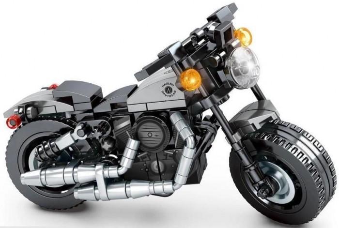 Купить Конструкторы, Конструктор Sembo Известные мотоциклы Harley-Davidson Iron 883 (189 деталей)
