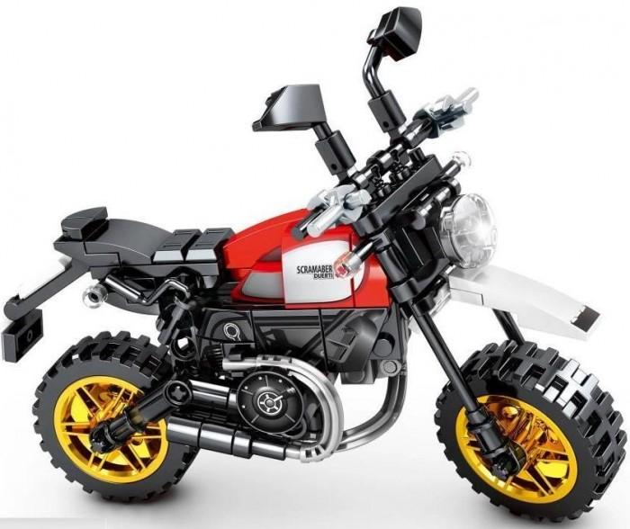 Купить Конструкторы, Конструктор Sembo Известные мотоциклы Ducati Scrambler 800 (212 деталей)