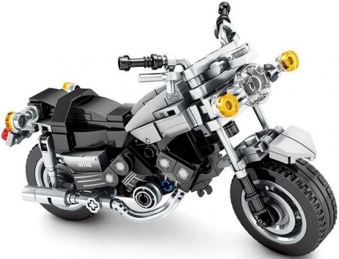 Купить Конструкторы, Конструктор Sembo Известные мотоциклы Yamaha V-Max (249 деталей)