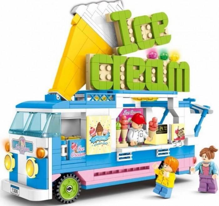 Купить Конструкторы, Конструктор Sembo Фургончик Мороженое (453 детали)