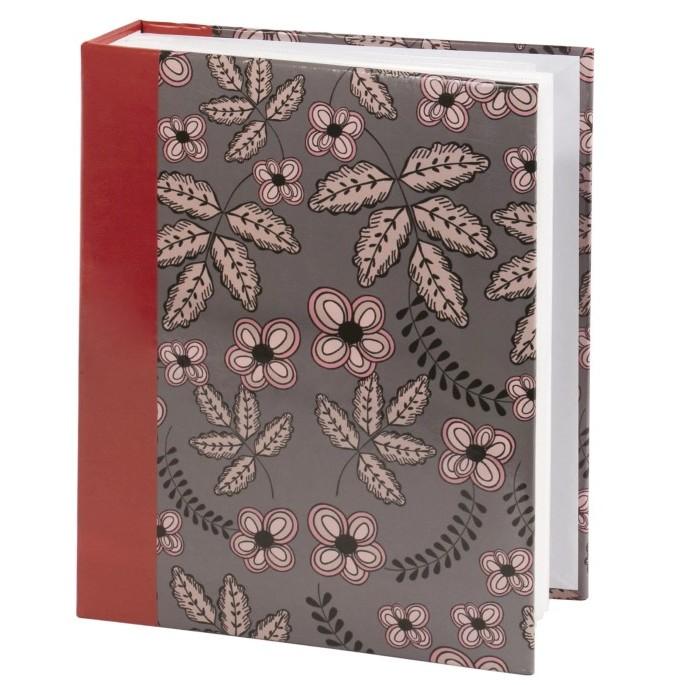 Фотоальбомы и рамки Brauberg Фотоальбом Флора на 200 фото 10x15 см