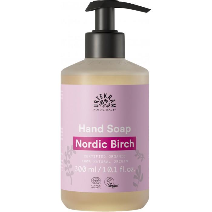 Купить Косметика для мамы, Urtekram Жидкое мыло Северная береза с антибактериальным эффектом 300 мл