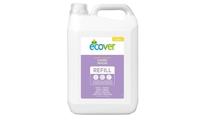 Фото - Косметика для мамы Ecover Экологическое жидкое мыло для мытья рук Лаванда 5 л жидкое мыло для рук с ароматом лайма и имбиря чистота и свежесть 250мл