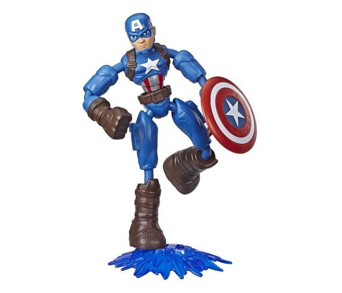Картинка для Avengers Фигурка Бенди Мстители Капитан Америка 15 см