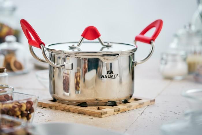 Купить Посуда и инвентарь, Walmer Кастрюля с крышкой Oxford 18 см 2.5 л