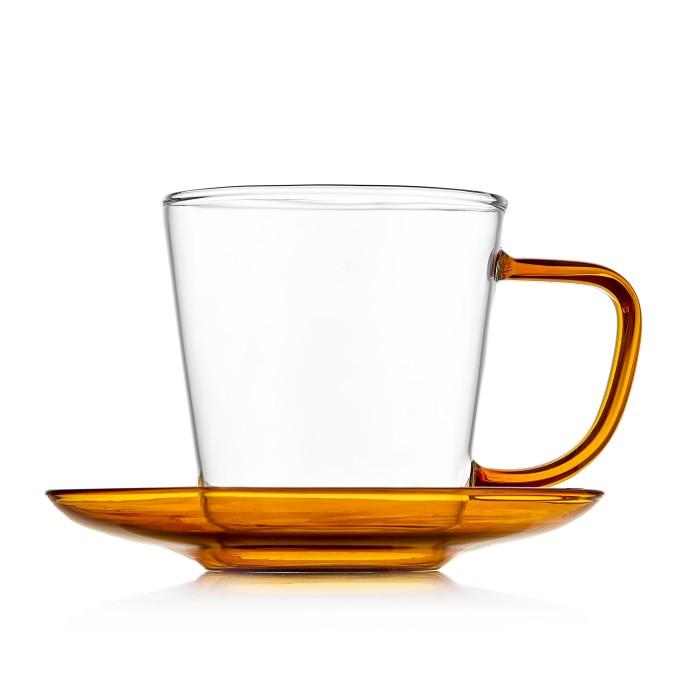 Купить Посуда и инвентарь, Walmer Чайная пара Duo 300 мл